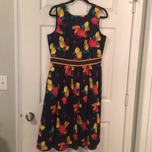 Eva Mendes for New York & Co Lemons/Apples Dress